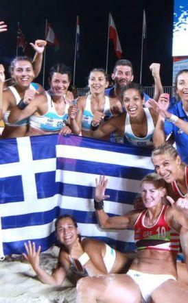 Beach Handball  Γυναικών - Εκθρόνισε την πρωταθλήτρια κόσμου Ισπανία - Σήμερα στις 17:00 για το χρυσό!