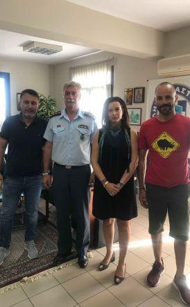 Συνάντηση του Δ.Σ. του Σωματείου Καφετεριών στη Διεύθυνση Αστυνομίας Ημαθίας και σε Τροχαία