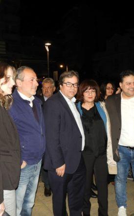 Αγιασμό στο εκλογικό του κέντρο έκανε ο Αντώνης Μαρκούλης
