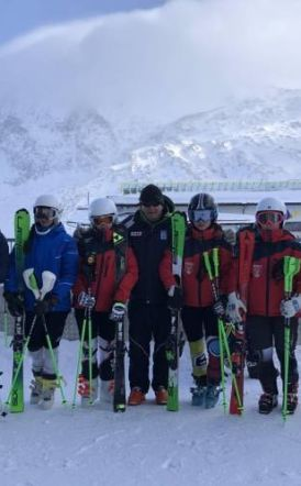 ΕΟΣ Nάουσας  Προετοιμασία Αλπικού Σκι Αυστρία