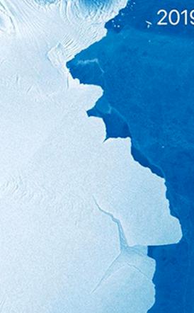 Αποκολλήθηκε τεράστιο παγόβουνο 315 δισεκατομμυρίων τόνων