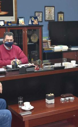 Στο πλευρό των αγροτών ο Κώστας Καλαϊτζίδης -