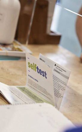 Τέλος τα self test από Ιούλιο για τους εμβολιασμένους