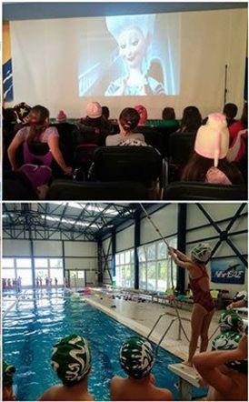 Φαντασμαγορική εκδήλωση του ΝΗΡΕΑ στην πισίνα