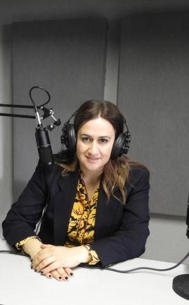 Η υποψήφια ευρωβουλευτής της Ν.Δ. Ελένη Παναγιωταρέα και η ηθοποιός Βασιλική Δέλιου-«Πρωινές Σημειώσεις»