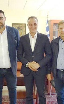 Συνάντηση του Προέδρου της ΠΟΕ-ΔΕΥΑ   Π. Δραγκόλα με τον Περιφερειάρχη   Δ. Μακεδονίας Θ. Καρυπίδη