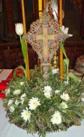 ΙΕΡΟΣ ΝΑΟΣ ΑΓΙΩΝ ΑΝΑΡΓΥΡΩΝ ΒΕΡΟΙΑΣ:  Αγρυπνία για την εορτή της Υψώσεως του Τιμίου Σταυρού