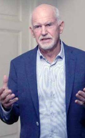 Το ανακοίνωσε επίσημα χθες βράδυ…  Γιώργος Παπανδρέου:  Θέτω υποψηφιότητα για την ηγεσία του ΚΙΝΑΛ για να ξαναγίνει  η παράταξη μεγάλη και ισχυρή
