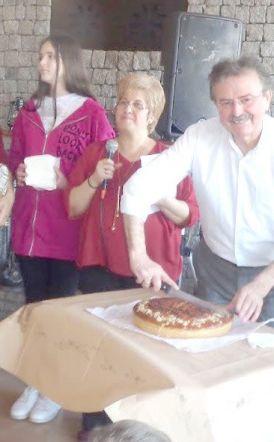 Ο χορευτικός Όμιλος Βέροιας έκοψε πίτα