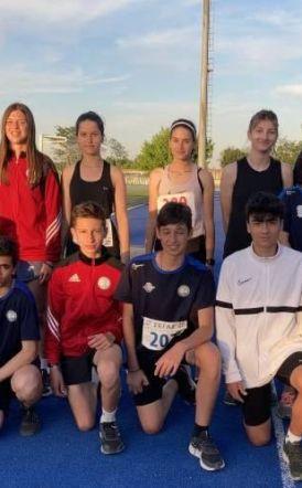 Οι νεαροί Αθλητές/τριες του ΟΚΑ  ΒΙΚΕΛΑ Βέροιας στο 1ο'' ΑΛΕΞΑΝΔΡΙΝΟ'' Μήτιγκ Στίβου.