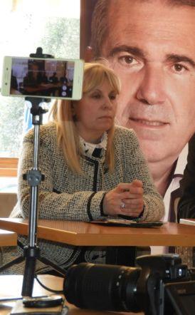 Στο κεντρικό ψηφοδέλτιο του συνδυασμού Παυλίδη, μετακινείται η Σοφία Ζεϊμπέκη