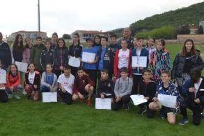 Εντυπωσίασαν οι μικροί Βεροιώτες στους διασυλλογικούς αγώνες του  4αθλου στην Νάουσα