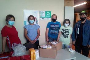 Προσφορά φαρμάκων από το Υφάδι στο κοινωνικό φαρμακείο Νάουσας