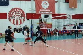 Volley League. Δύσκολα ο Ολυμπιακός 3-0 σέτ τον Φίλιππο Βέροιας στου Ρέντη