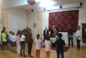 Αγιασμός τελέστηκε στη Θρακική Εστία Βέροιας - Το πρόγραμμα των χορευτικών τμημάτων