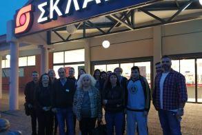 """Εκπαιδευτική επίσκεψη των σπουδαστών του ΙΕΚ Βέροιας στο Σούπερ Μάρκετ """"Σκλαβενίτης"""""""