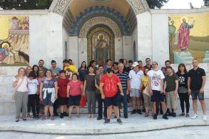 Τα «Παιδιά της Άνοιξης» στην Ιερά Μονή Παναγίας Δοβρά