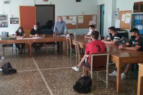 Συνάντηση της εκπαιδευτικής κοινότητας με τους μαθητές του 5ου ΓΕΛ Βέροιας