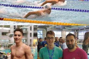 Στην προεθνική και στους επίλεκτους πέντε αθλητές και αθλήτριες της Κολυμβητικής Ακαδημίας Νάουσας