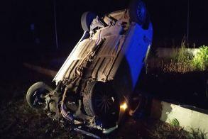 Νάουσα: Τροχαίο ατύχημα στη Σχολή Αριστοτέλους - Με ελαφρά τραύματα η οδηγός