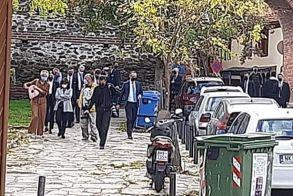 Στην παλαιά πόλη της Θεσσαλονίκης ξεναγείται αυτή την ώρα η Πρόεδρος της Δημοκρατίας Κατερίνα Σακελλαροπούλου