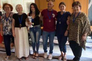 Οι νικητές του 16ου Πανελλήνιου Πρωταθλήματος Scrabble που διοργανώθηκε στην Βέροια