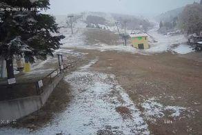 Απριλιάτικο χιόνι στο Σέλι!