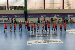 Ημιτελικός κυπέλλου γυναικών. Στον τελικό η Βέροια 2017 κέρδισε 23-22 την Άρτα.