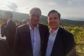 Συνάντηση Δημάρχου Νάουσας Νικόλα Καρανικόλα με τον Υπουργό Αγροτικής Ανάπτυξης και Τροφίμων Μάκη Βορίδη