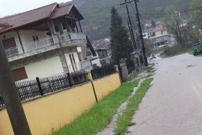 Πλημμύρισαν  χωράφια στους Γεωργιανούς από τον όγκο βροχής του Τριποτάμου - Βίντεο