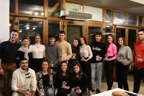ΓΕ Νάουσας Βράβευση αθλητών και κοπεί πίτας του συλλόγου