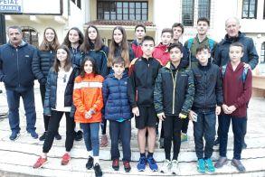 Μεγάλη συμμετοχή  καλές διακρίσεις  και  8 μετάλλια για τους Βεροιωτες Αθλητές του Στίβου στην Μελίκη