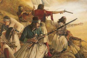 ΤΟ ΧΡΟΝΙΚΟ ΤΗΣ Ι. ΜΟΝΗΣ ΤΗΣ ΑΓΙΑΣ ΛΑΥΡΑΣ ΚΑΛΑΒΡΥΤΩΝ ΚΑΙ  Η ΕΝΑΡΞΗ ΤΗΣ ΕΛΛΗΝΙΚΗΣ ΕΠΑΝΑΣΤΑΣΗΣ ΤΗΝ 25 ΜΑΡΤΙΟΥ 1821