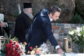 Xανιά: Τρισάγιο στη μνήμη του Κωνσταντίνου Μητσοτάκη, παρουσία του πρωθυπουργού (ΒΙΝΤΕΟ)