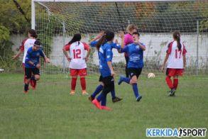 Άστραψαν και βρόντηξαν τα κορίτσια της  Veria Ladies, 5-0 την Κέρκυρα.