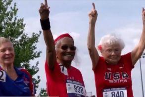Μια δρομέας 103 ετών δίνει συμβουλές για την ζωή