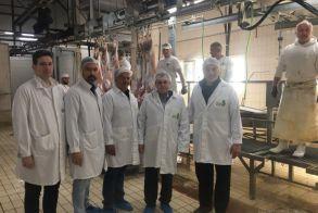 Ενημερωτική επίσκεψη του Κώστα Καλαϊτζίδη στο Σφαγείο Βέροιας  και ικανοποίηση για την τροφοδοσία της αγοράς ενόψει Πάσχα