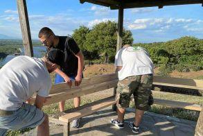 Κιόσκι στο Φράγμα επισκεύασε ο Σύλλογος Νεολαίας Βέροιας! (Εικόνες)