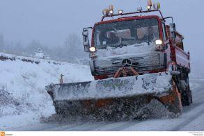 Κεντρική Μακεδονία:5.000 τόνοι αλάτι και 100 μηχανήματα για τον χιονιά