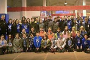 Επιτυχίες στον κλειστό στίβο για την Γυμναστική Ένωση Νάουσας