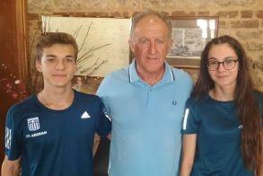 Αναχωρούν αύριο για τους Ολυμπιακούς  αγώνες Νέων  οι Αθλητές του Φιλίππου Άνθιμος Κελεπούρης και Ελένη Ιωαννίδου