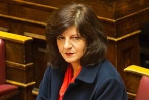 """Φρόσω Καρασαρλίδου  στη Βουλή για τον Κρατικό  Προϋπολογισμό: """"Διαψεύστηκαν τα σενάρια καταστροφολογίας, καταφέραμε να φέρουμε  τη χώρα σε τροχιά ανάκαμψης"""""""