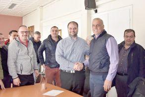 Υπογράφηκε η σύμβαση για το έργο ανάπλασης της οδού Μεγάλου Αλεξάνδρου