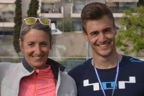 Συμμετοχές με την Εθνική ομάδα στίβου  οι αθλητές της ΓΕ Νάουσας
