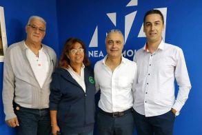 Ο Λάζαρος Τσαβδαρίδης συναντήθηκε με τον νεοσύστατο Πανελλήνιο Σύλλογο Εργαζομένων Πυροπροστασίας Δασών Ελλάδας (ΕΛ.ΠΥ.ΔΑ.)