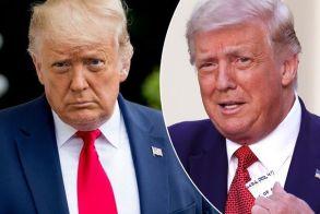 Χαμός στο Twitter με τα γκρι μαλλιά του Ντόναλντ Τραμπ - ΦΩΤΟ
