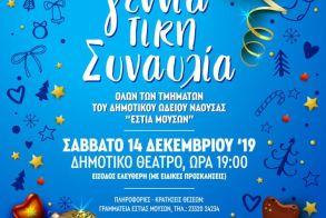 Μεγάλη Χριστουγεννιάτικη συναυλία-παράσταση στο Δημοτικό Θέατρο Νάουσας!