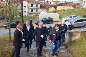 Ο Ν. Χαρδαλιάς επισκέφθηκε τη Νεάπολη - Δαμασκηνιά και Δραγασιά σε καραντίνα άλλη μια εβδομάδα