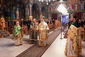 Αρχιερατική Θεία Λειτουργία στον Ιερό Ναό του Αγίου Μηνά Ναούσης