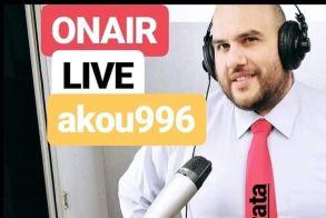 ''Χωρίς γραβάτα '' Τρίτη 24 Μαρτίου τον Αντώνη Μπιδέρη live streaming από το σπίτι του -1.000.000 SMS στο 13033 την πρώτη μέρα για μετακινήσεις